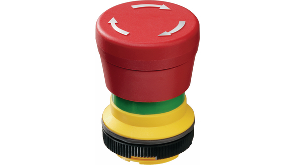 Buy Emergency stop pushbutton Mushroom Form/22 mm Red RAFIX 22 FS+
