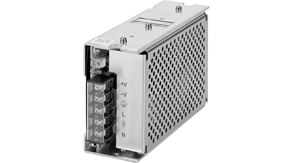 S8JXG15012CD DIN Rail Power Supply, 12V, 13A, 150W, Adjustable Omron Industrial Automation