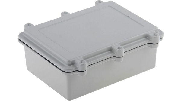 Buy Aluminium Enclosure with EMI Protection, Grey, 150 x 200 x 75 mm, IP67