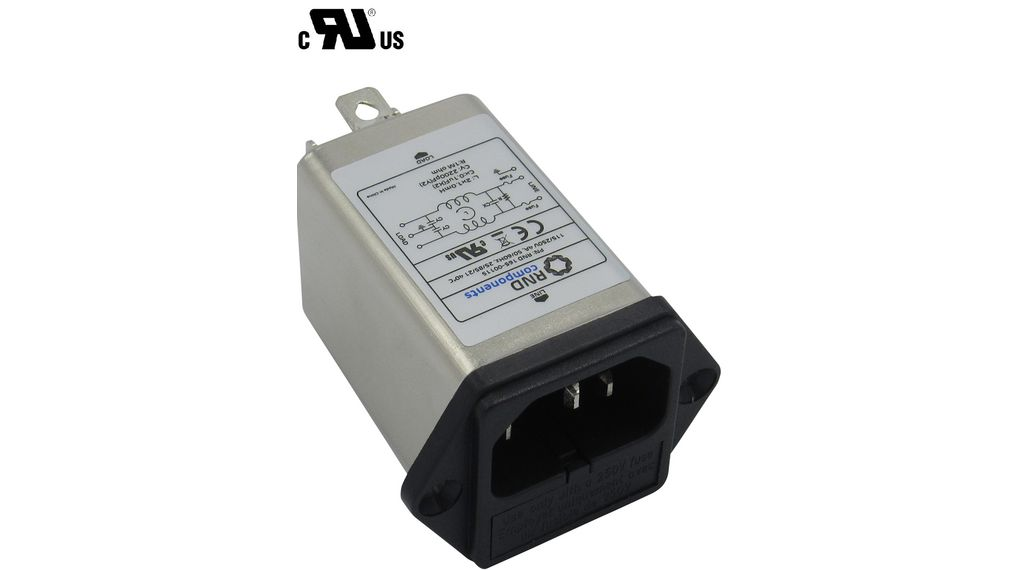 Buy Mains Filter, 4 A, 250 VAC