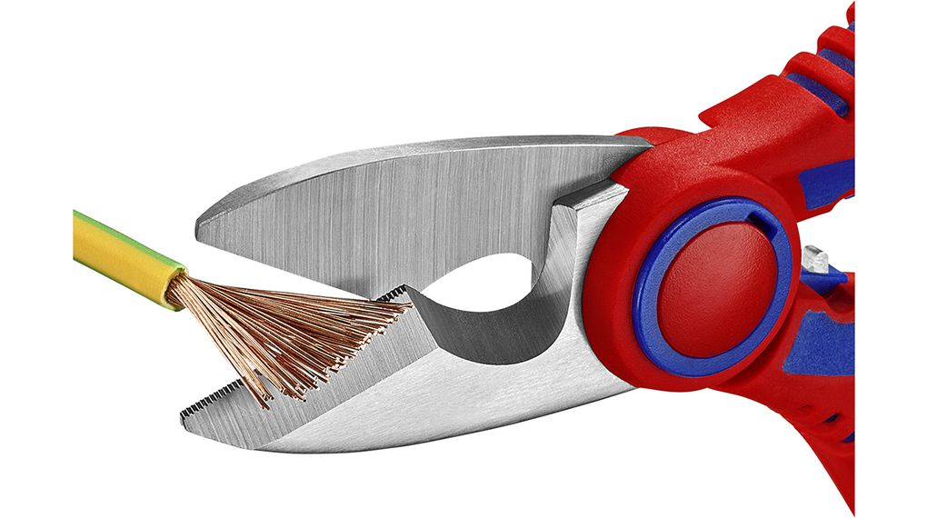 Knipex 95 05 10 SB Electricians Shears