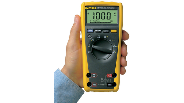 Fluke 177 True-RMS Digital Multimeter CAT III 1000 V/CAT IV 600 V FLUKE 177  TRMS AC