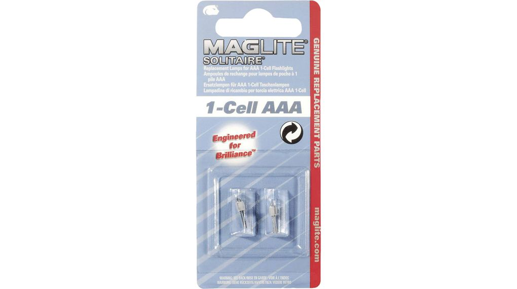 Mag-Lite Light Accessories New Mini Replacement Bulbs LM2A001
