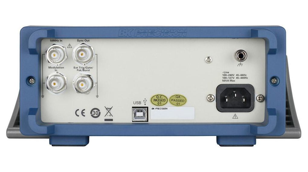 B/&K Precision 4052TCAL BK Precision Arbitrary Waveform Generator 5 M Hz Dual Channel Function with a NIST-Traceable Calibration Certificate with Data