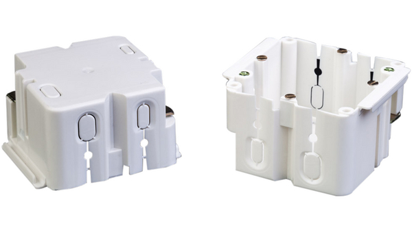 Buy Cable junction box Polyvinyl Chloride (PVC) Cream-White
