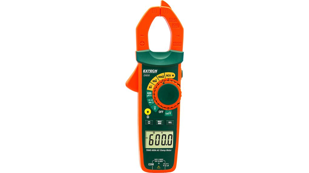 Buy Current clamp meter, 600 AAC, TRMS AC