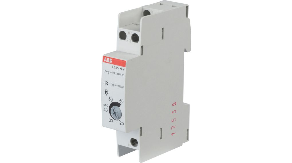 Staircase Lighting Timer Switch 230 Vac 20 S 60
