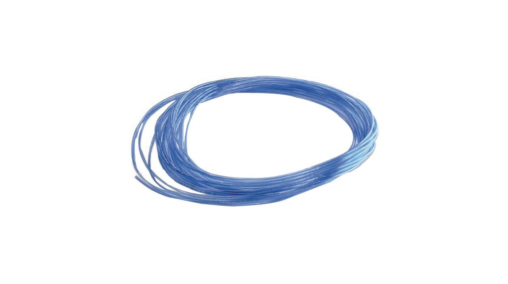 Buy Pu Tubing, 4mm, 6mm, Polyurethane, Blue, 20m