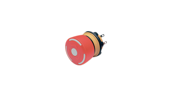 Buy Emergency Stop Switch 1NC + 1NO Round Button Plug Connection