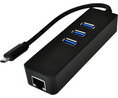 Buy Ethernet Adapter, USB Hub USB 1x 10/100/1000 -