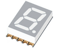 Buy 7-segment LED-display 10 mm Red SMD