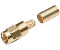 Buy SMA cable connector, straight HFX-1336 50 Ohm, 18 GHz, Male, SMA