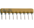 Buy Resistor network SIL 100 kOhm  ±  2 %