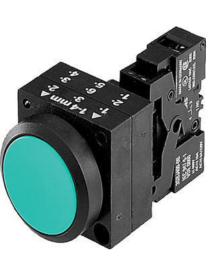 3SB3203-0AA21,Pushbutton/complete