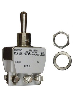 649H,Industrial toggle switch on-off-on 2P