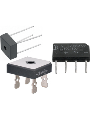 B250FD,Bridge rectifier 600V 1A DIL-4 PU=1000 S