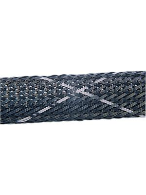 HEGPV0X12-PBT-BK-C4,Braided cable sleeving 6-19mm black with