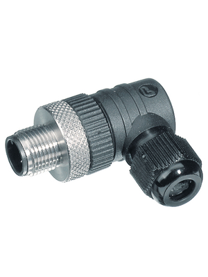 RSCW 3/7,Cable connector/M12 3-pin Pole no. 3
