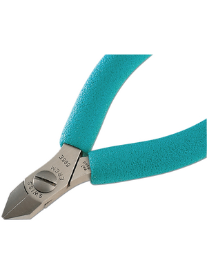 595E,Precision side-cutting pliers small beve
