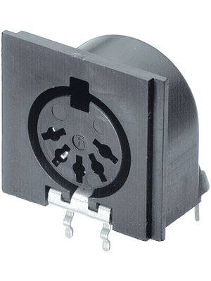 MAB 6 H,Electric coupler receptacle 6P