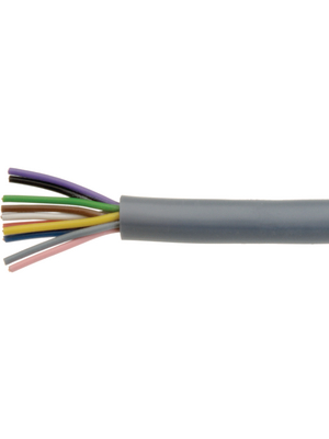 LIYCY 8 X 0.25 MM2,Control cable shielded 8 x0.25mm² shield