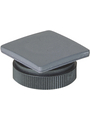 5.05.800.068/0000,Blanking cap  square 22mm slate