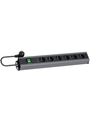300.011,Outlet strip/6xGermany/Schuko/2 m