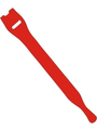 E1-2-530-B10,Hook-and-loop cable ties red 200mm x13mm