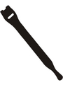 E1-2-330-B10,Hook-and-loop cable ties black 200mm x13